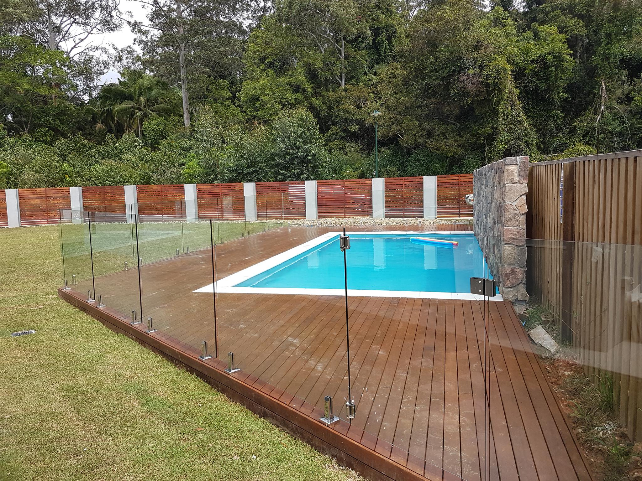 Glass Pool Fencing Sunshine Coast Pool Fence Installation